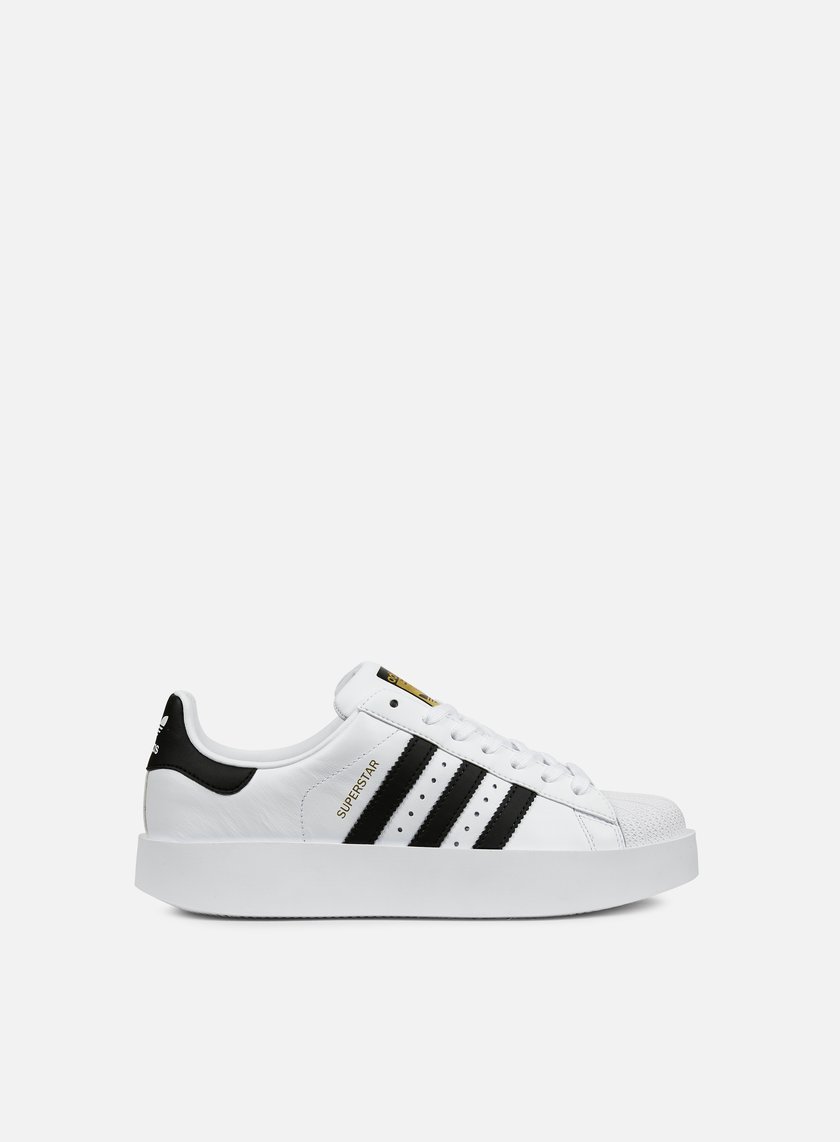 Adidas Originals - WMNS Superstar Bold, White/Core Black/Gold Metallic