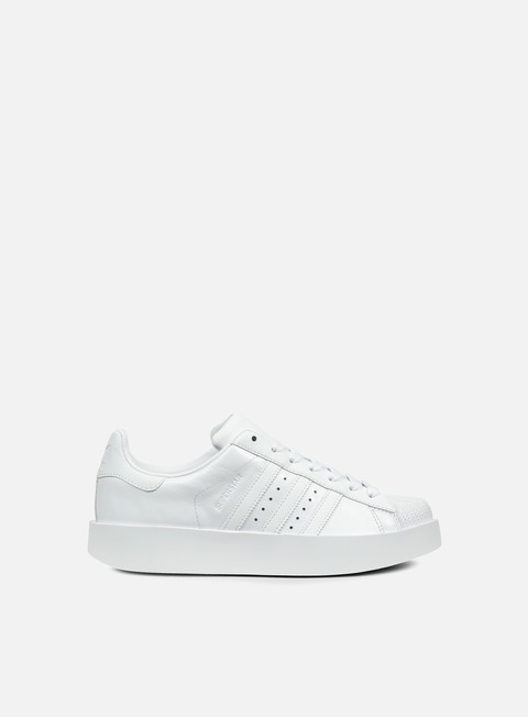 sneakers adidas originals wmns superstar bold white white core black