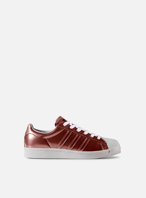 sneakers adidas originals wmns superstar boost copper metallic white