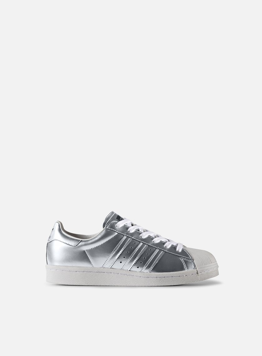 Adidas Originals - WMNS Superstar Boost, Silver Metallic/White