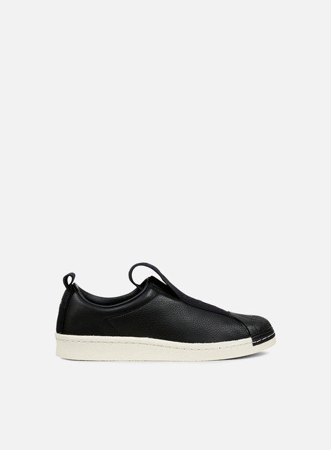 sneakers adidas originals wmns superstar bw35 slip on core black core black off white