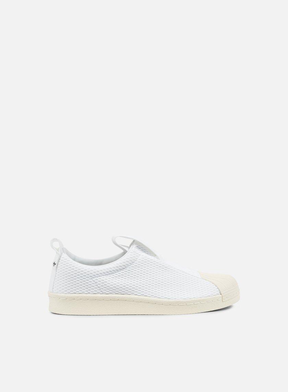 Adidas Originals - WMNS Superstar BW35 Slip On, White/Off White
