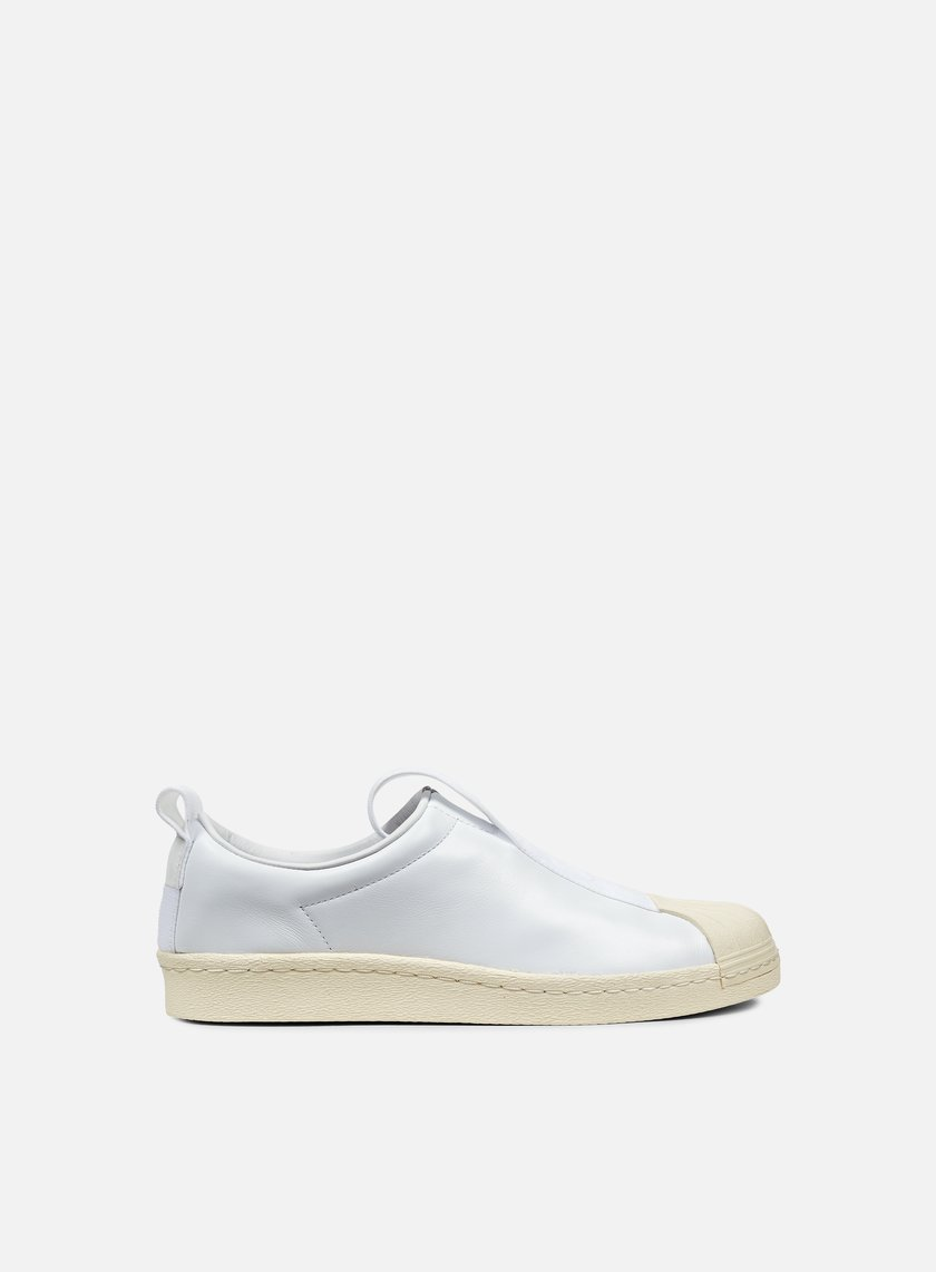 Adidas Originals - WMNS Superstar BW35 Slip On, White/White/Off White