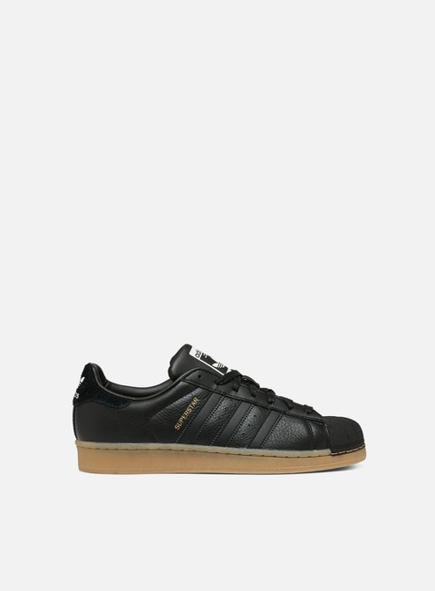sneakers adidas originals wmns superstar core black core black gum4
