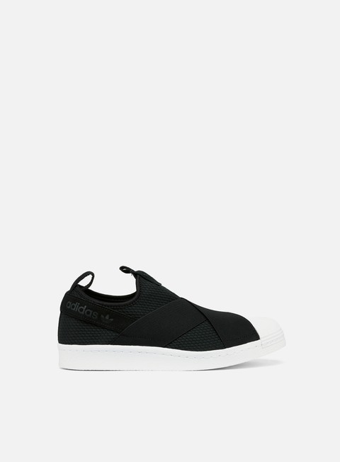 sneakers adidas originals wmns superstar slip on core black core black ftw white