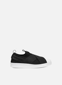 Adidas Originals - WMNS Superstar Slip On, Core Black/Core Black/Running White