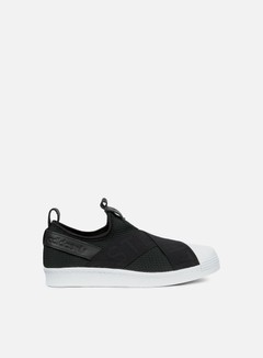 Adidas Originals - WMNS Superstar Slip On, Core Black/Core Black/White