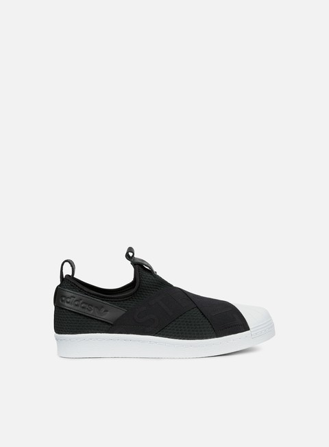 sneakers adidas originals wmns superstar slip on core black core black white