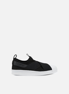 Adidas Originals - WMNS Superstar Slip On, Core Black/Core Black/White 1