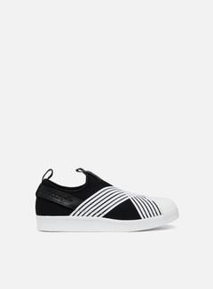 Adidas Originals - WMNS Superstar Slip On, Core Black/Ftwr White/Ftwr White