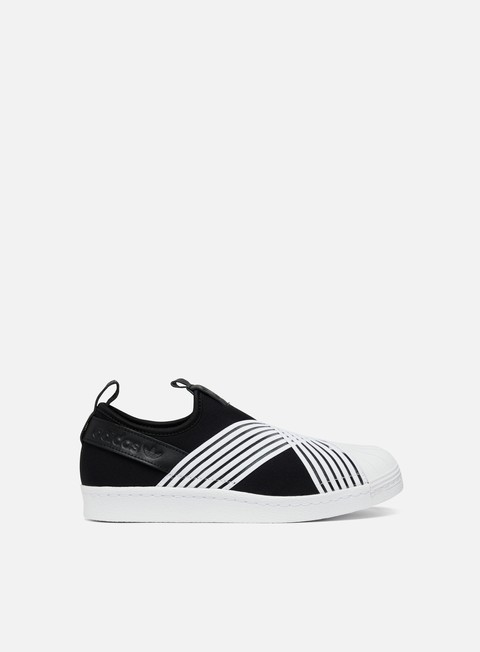 sneakers adidas originals wmns superstar slip on core black ftwr white ftwr white