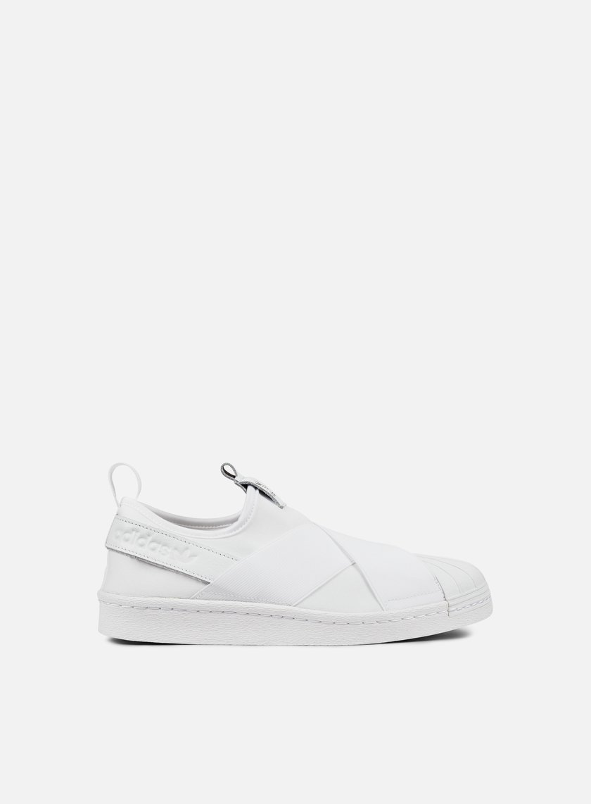 Adidas Originals - WMNS Superstar Slip On, White/White/Core Black