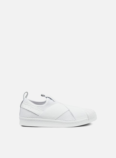 sneakers adidas originals wmns superstar slip on white white white