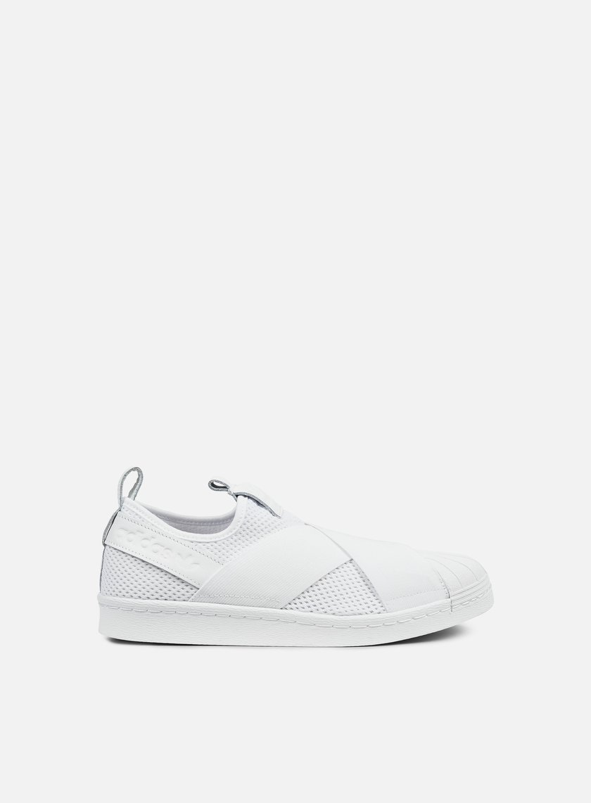 Adidas Originals WMNS Superstar Slip On White White White BY2885 Sneakers Low