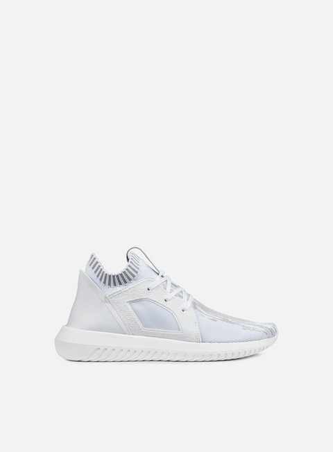 sneakers adidas originals wmns tubular defiant primeknit white white clear granite