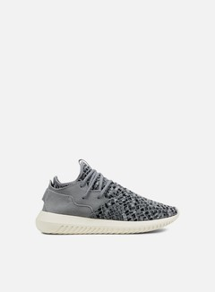 Adidas Originals - WMNS Tubular Entrap, Light Onix/Metallic Silver/Chalk White 1