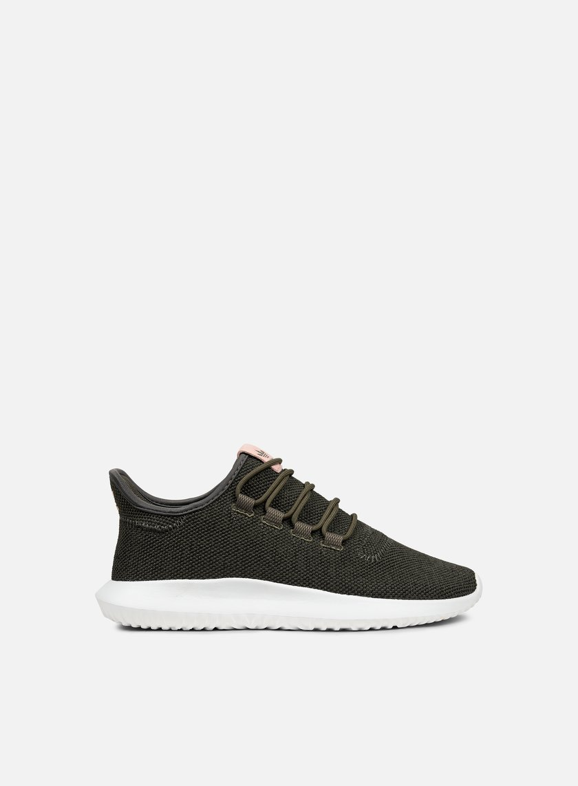 Adidas Originals - WMNS Tubular Shadow, Utility Green/Core Black/White