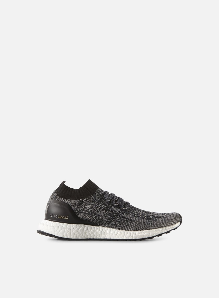 Adidas Originals - WMNS Ultra Boost Uncaged, Core Black/Charcoal Solid Grey/Gold Metallic