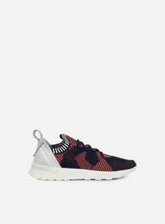 Adidas Originals - WMNS ZX Flux ADV Virtue Primeknit, Shock Red/Collegiate Navy/Shock Red 1