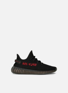 Adidas Originals - Yeezy Boost 350 V2, Core Black/Core Black/Red 1