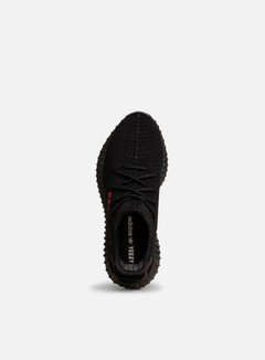 Adidas Originals - Yeezy Boost 350 V2, Core Black/Core Black/Red 2