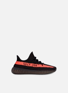 Adidas Originals - Yeezy Boost 350 V2, Core Black/Red/Core Black 1