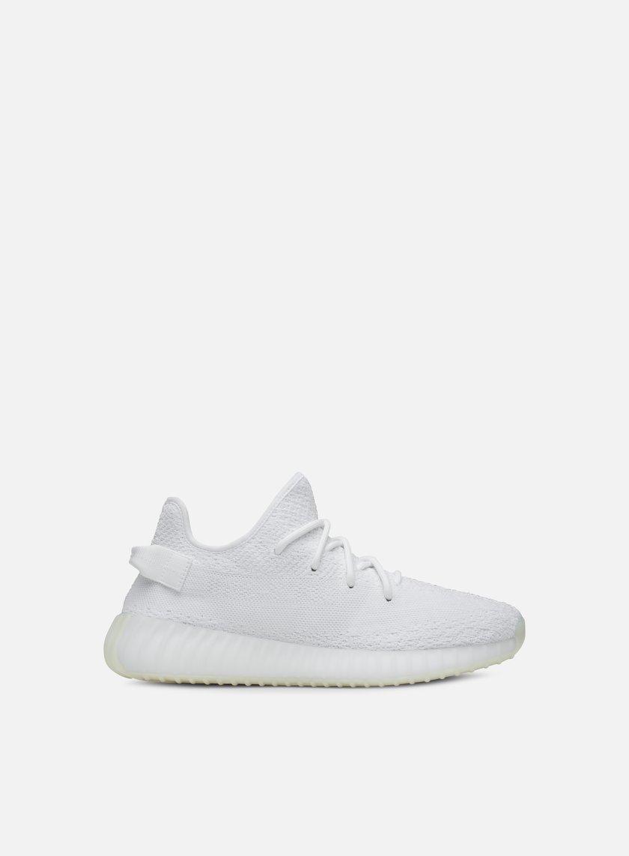 Adidas Originals - Yeezy Boost 350 V2, Cream White/Cream White/Cream White