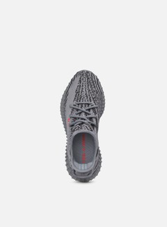 Adidas Originals - Yeezy Boost 350 V2, Grey/Bold Orange/Dgh Solid Grey 2