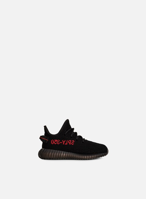 sneakers adidas originals yeezy boost 350 v2 infant core black core black red