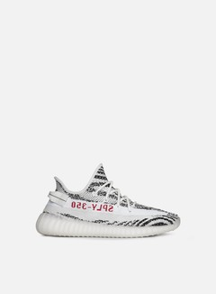 Adidas Originals - Yeezy Boost 350 V2, White/Core Black/Red 1