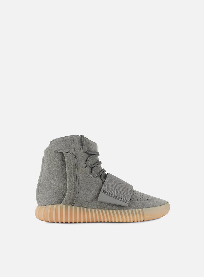 Adidas Originals - Yeezy Boost 750, Light Grey/Light Grey/Gum