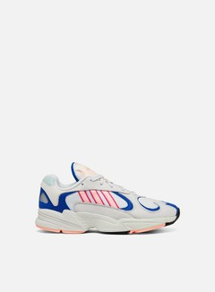 Adidas Originals - Yung-1, Crystal White/Clear Orange/Collegiate Royal