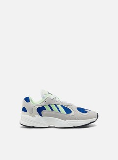 Adidas Originals - Yung-1, Ftwr White/Glow Green/College Royal