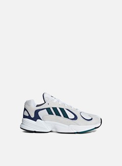 Adidas Originals - Yung-1, Ftwr White/Noble Green F18/Dark Blue