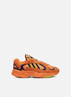 Adidas Originals - Yung-1, Hi-Res Orange/Hi-Res Orange/Shock Yellow