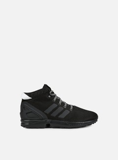Adidas Originals - ZX Flux 5/8, Core Black/Core Black/Vintage White 1