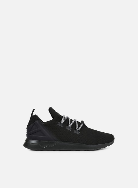 sneakers adidas originals zx flux adv x core black core black white