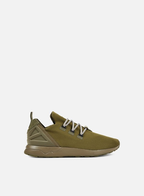 sneakers adidas originals zx flux adv x olive cargo core black white