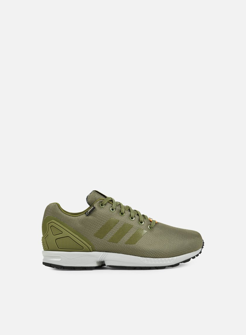 Adidas Originals - ZX Flux GTX, Olive Cargo/University Orange/Mgh Solid Grey