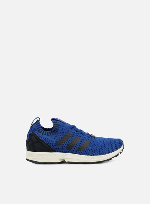 sneakers adidas originals zx flux primeknit collegiate royal core black chalk white