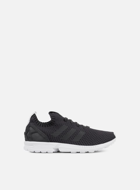 sneakers adidas originals zx flux primeknit solid grey solidgrey black