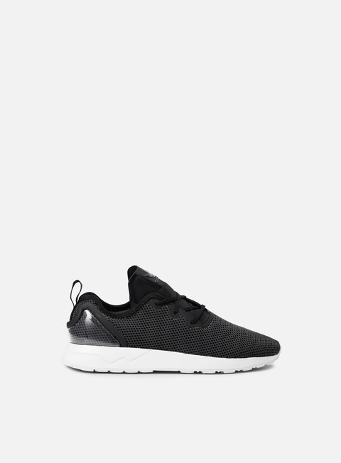 sneakers adidas originals zx flux racer adv asymmetrical core black running white core black