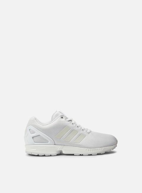 sneakers adidas originals zx flux running white running white running white