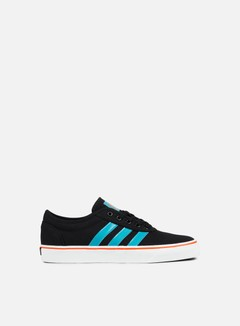 Adidas Skateboarding - Adi-Ease, Core Black/Energy Blue/Energy 1