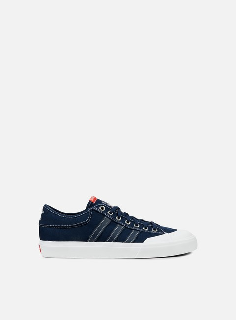 sneakers adidas skateboarding bonethrower matchcourt collegiate navy white red
