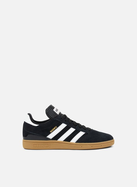 sneakers adidas skateboarding busenitz core black white gold