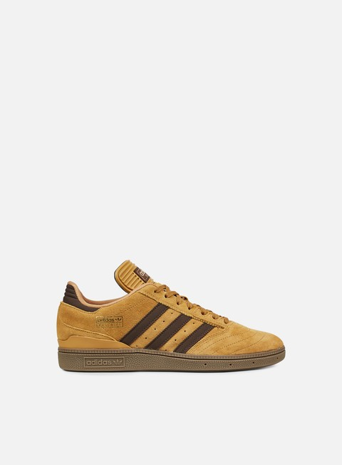sneakers adidas skateboarding busenitz mesa brown gold metallic