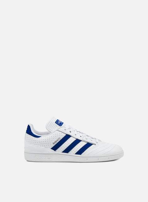sneakers adidas skateboarding busenitz pro white collegiate royal white