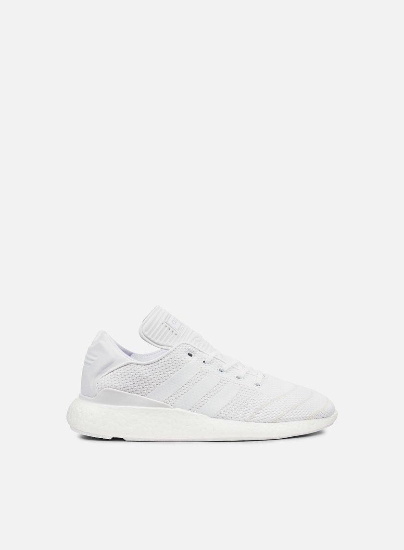 Adidas con lo skateboard busenitz puro slancio pk, bianco / bianco / bianco