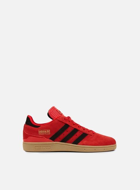 sneakers adidas skateboarding busenitz scarlet core black gum